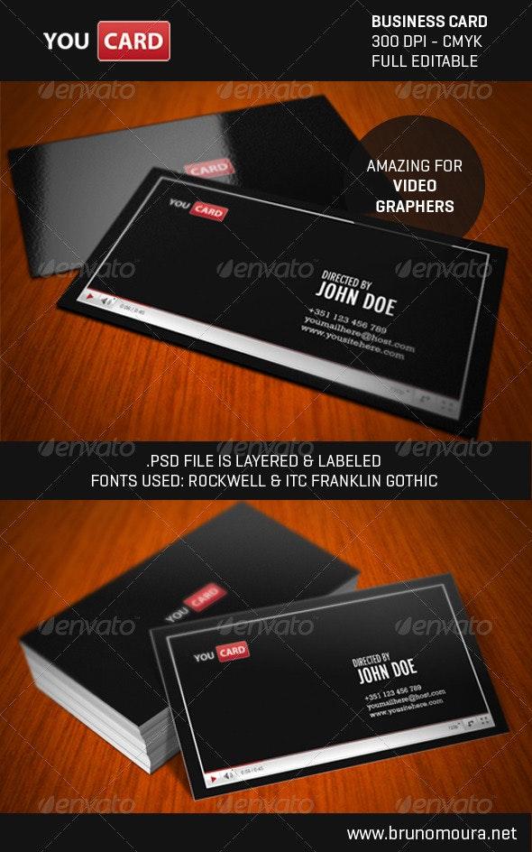 YouCard - A Modern Business Card - Creative Business Cards