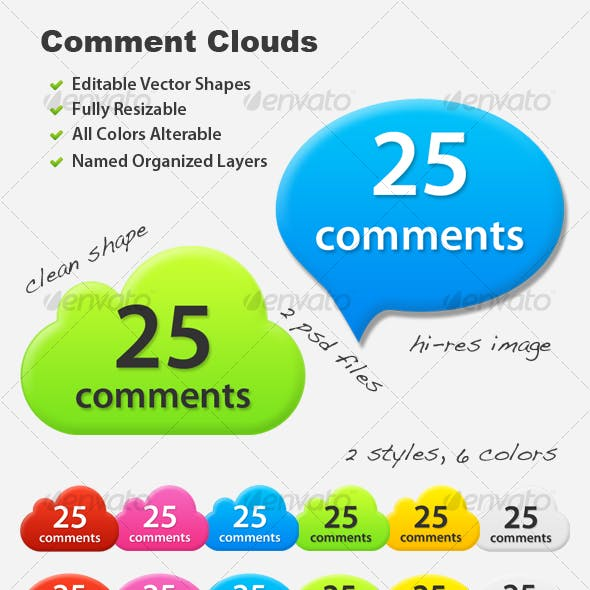 Web Comment Clouds