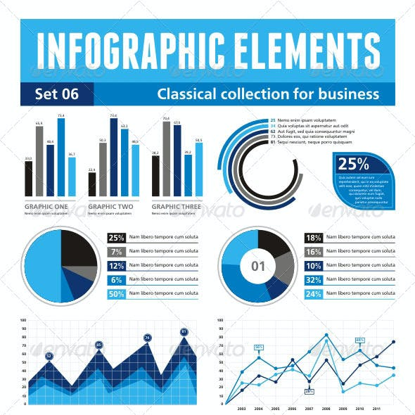 Infographics Elements - set 06