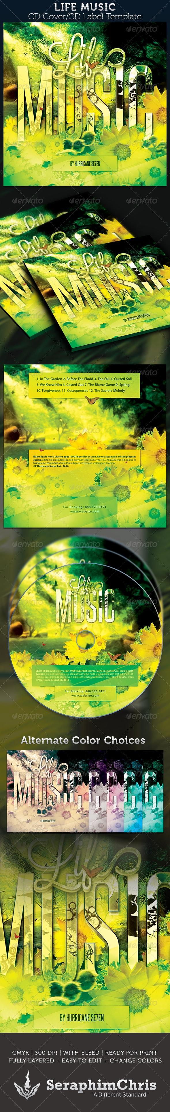 10 Best CD & DVD Artwork Templates  for July 2020