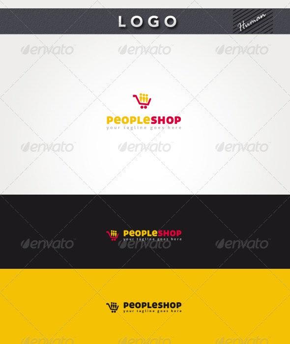 People Shop Logo - Humans Logo Templates