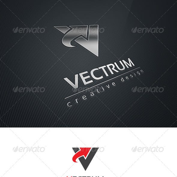 Vectrum Logo Template