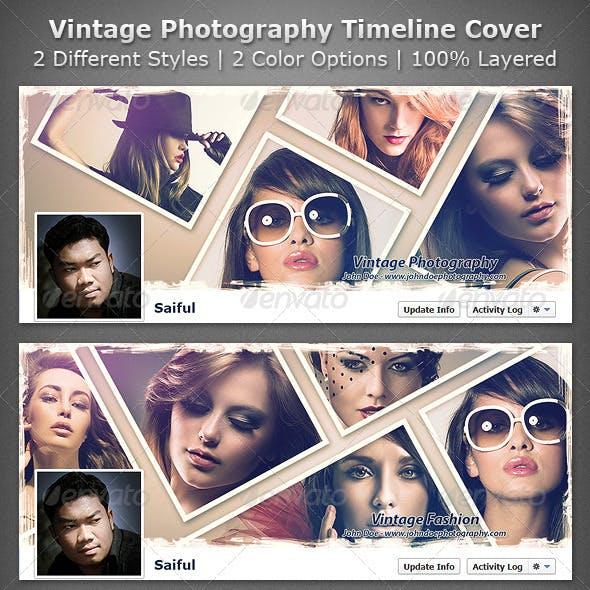 Vintage Photography Facebook Timeline Cover
