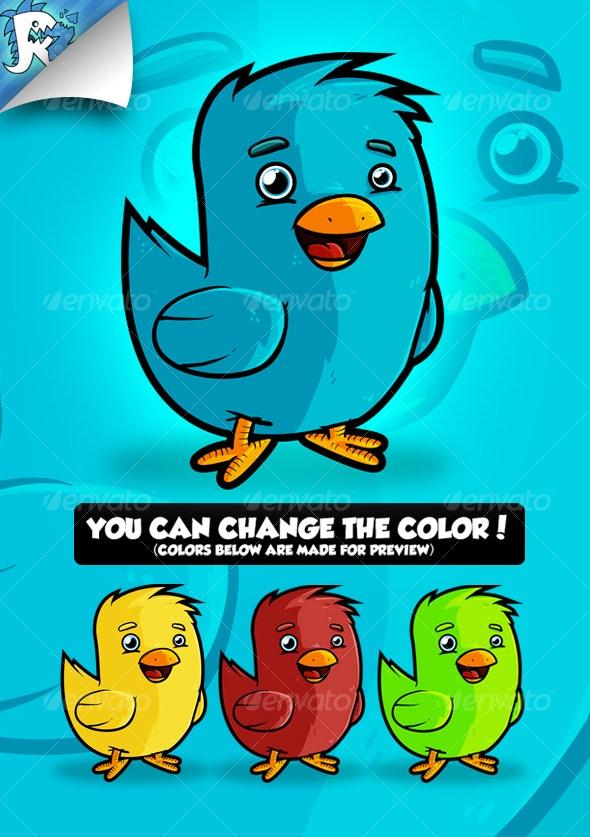 Twitter Bird - Animals Characters