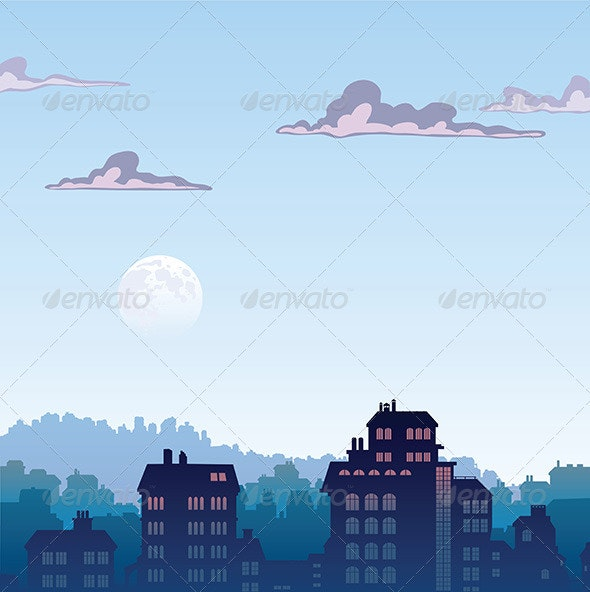 City by Morning - Buildings Objects
