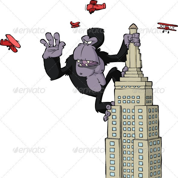 King Kong - Monsters Characters