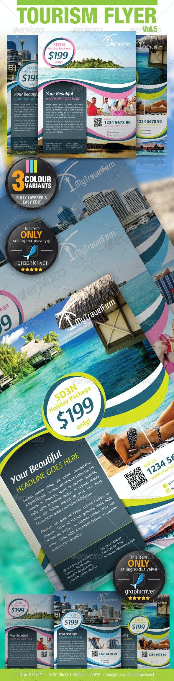Tourism Flyer Vol.5 - Holidays Events