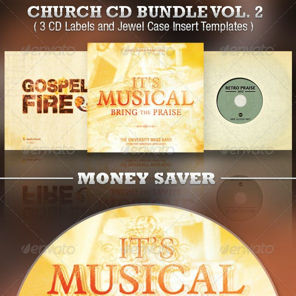 Rock CD & DVD Artwork Templates from GraphicRiver (Page 8)