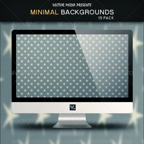 15 Pack - Minimal Backgrounds