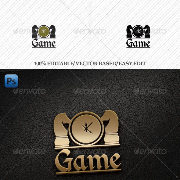 Game Session Logo Template