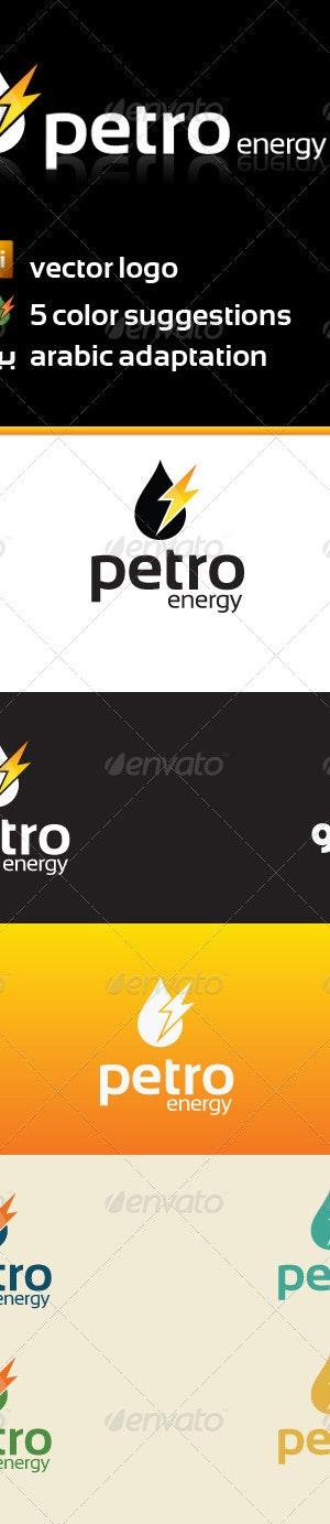 petro energy logo templateramzihachicho  graphicriver