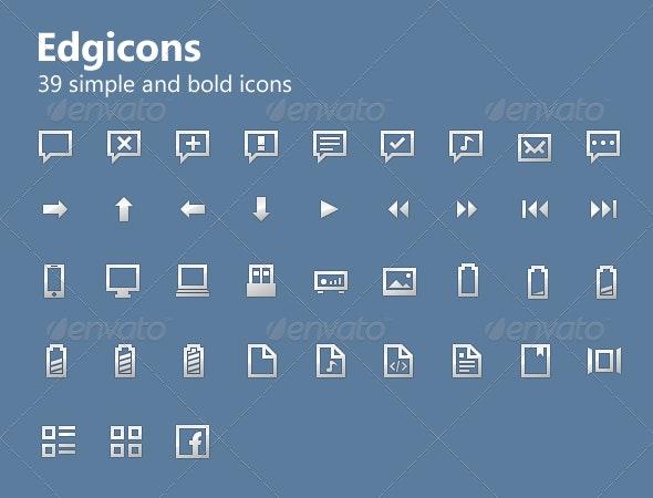 Edgicons - Web Icons