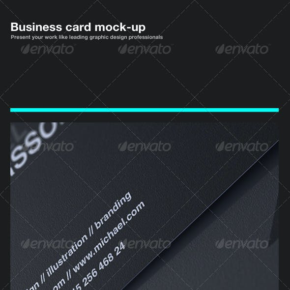 Business Card Mock-Up