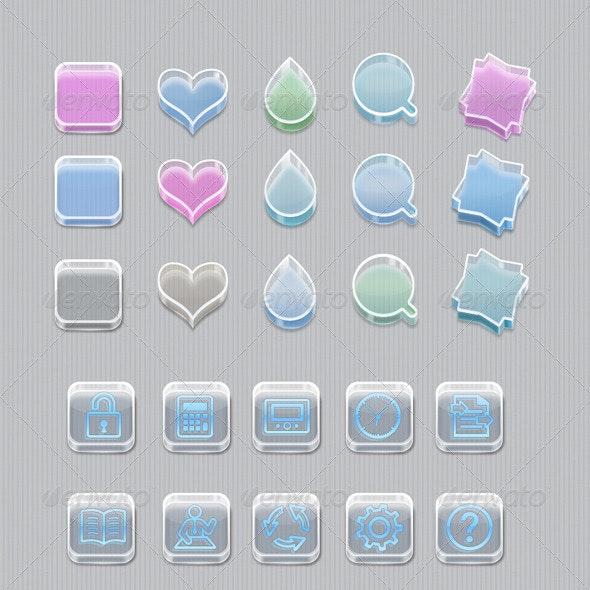 Glass Box Icon