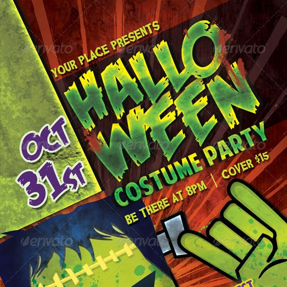 Costume Halloween Party