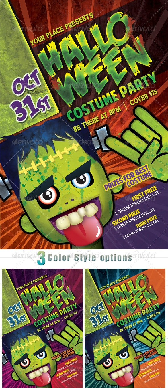 Costume Halloween Party - Holidays Events