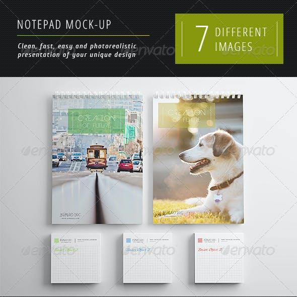 Notepad Mock-Up 1