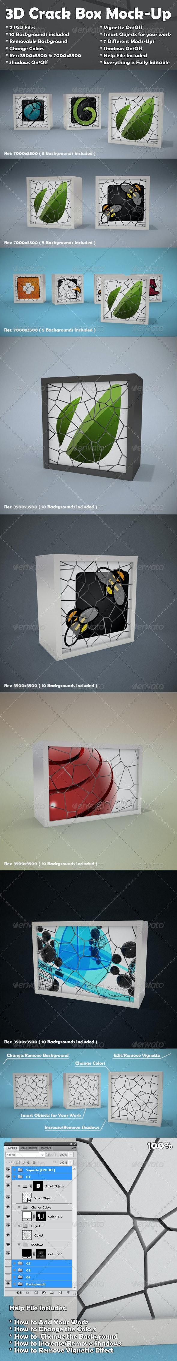 Crack Box Mockup - Miscellaneous Displays