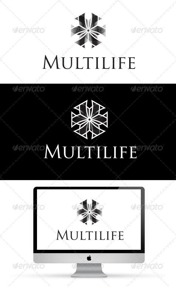 Multilife Logo - Vector Abstract