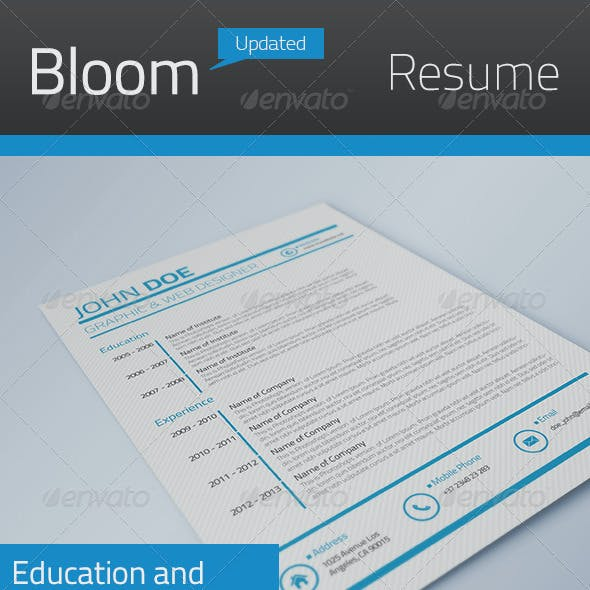 Bloom Resume