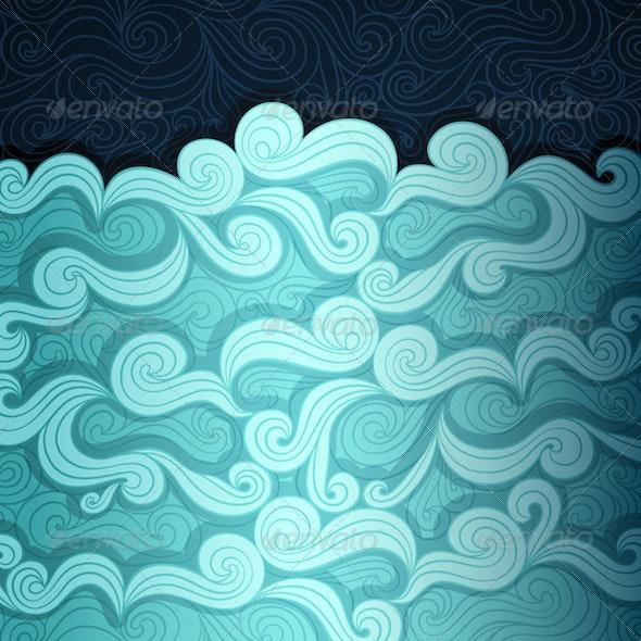 Wavy Water - Nature Conceptual