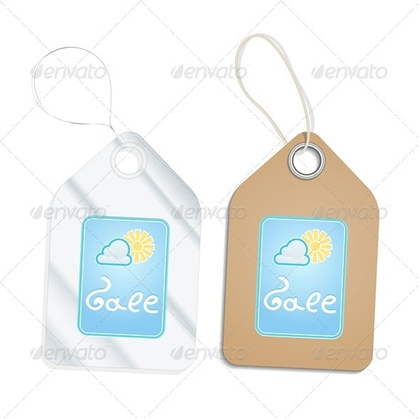 Plastic and Cardboard Tags - Commercial / Shopping Conceptual