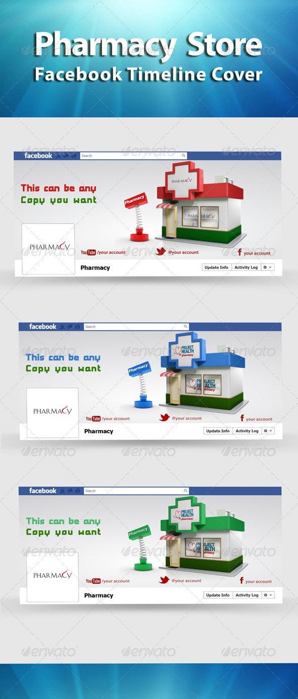 FB Timeline Pharmacy Store - Facebook Timeline Covers Social Media