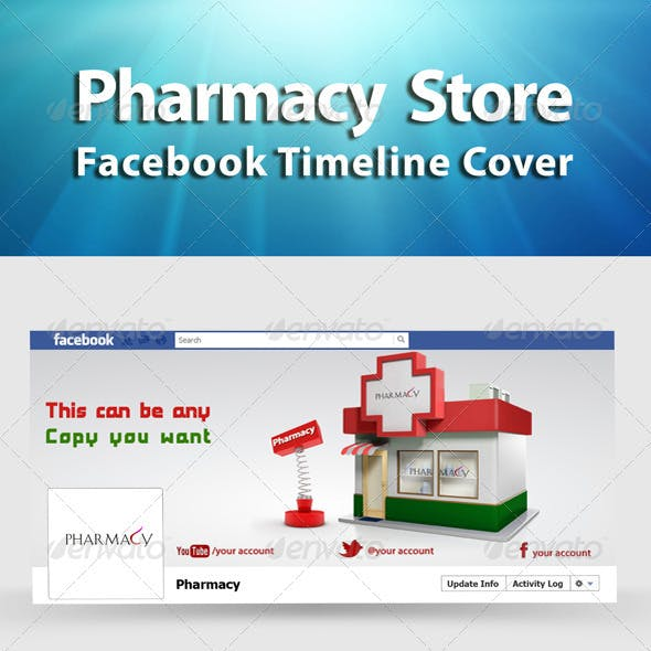 FB Timeline Pharmacy Store