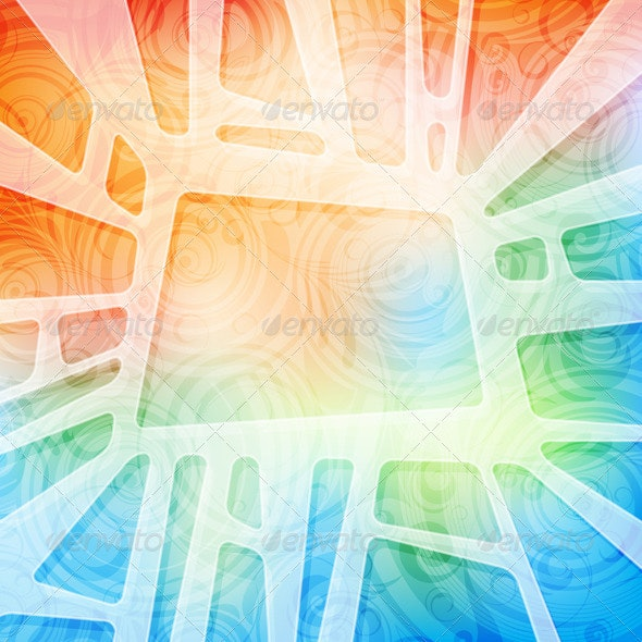 Creative design colorful banner - Backgrounds Decorative