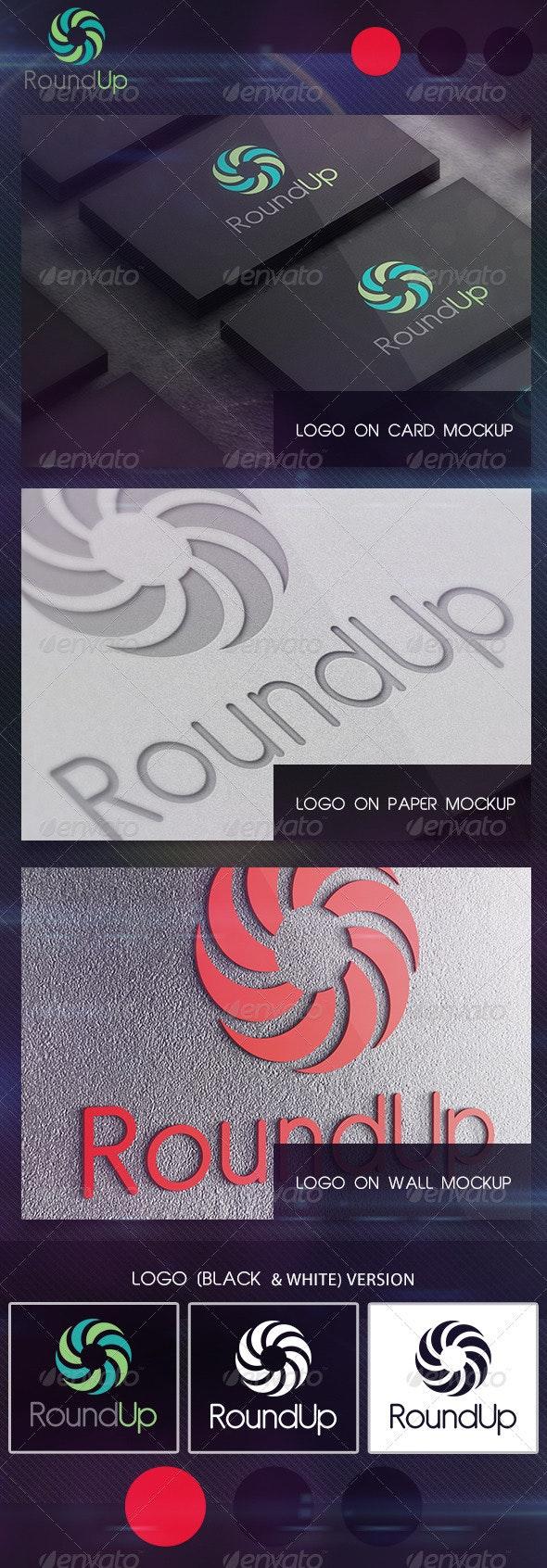 RoundUp  - Abstract Logo Templates