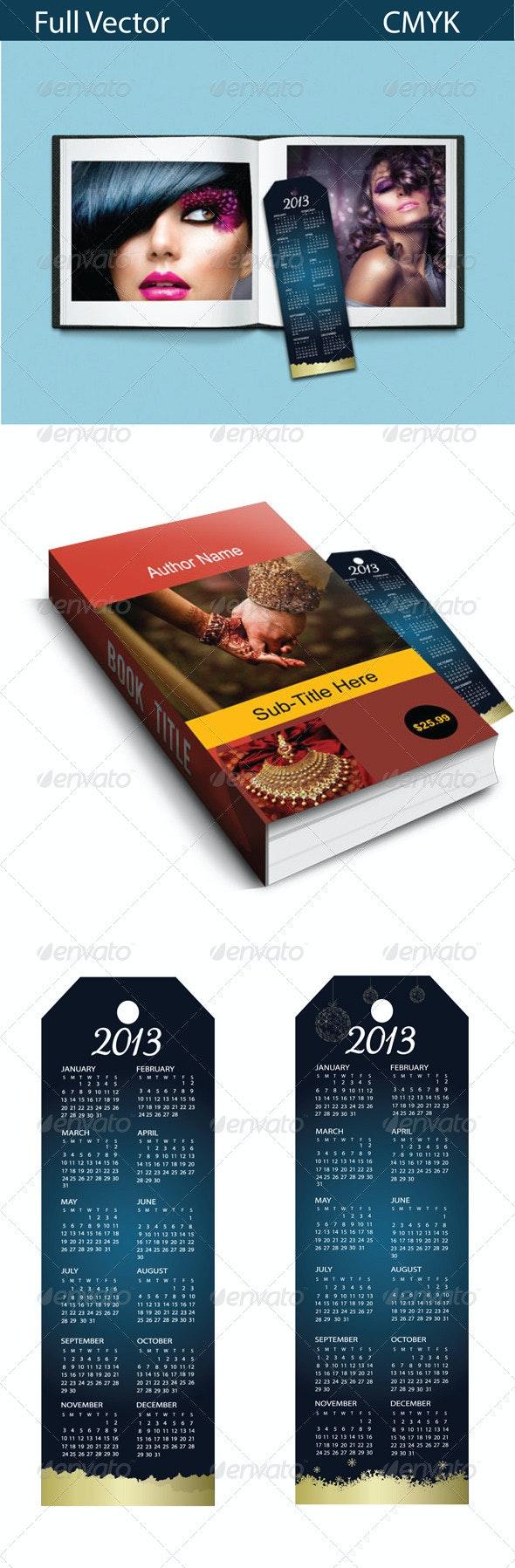Bookmark-Calendar-1001 - Calendars Stationery