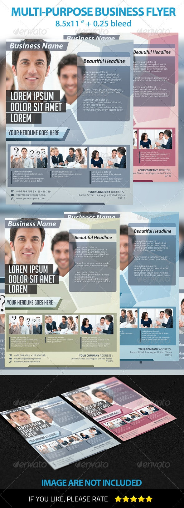 Multi-Purpose Business Flyer Template - Commerce Flyers