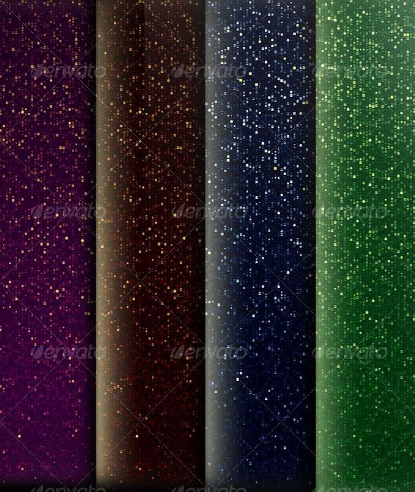 Constellation - Unique Fabric 4 Color Texture - Miscellaneous Backgrounds