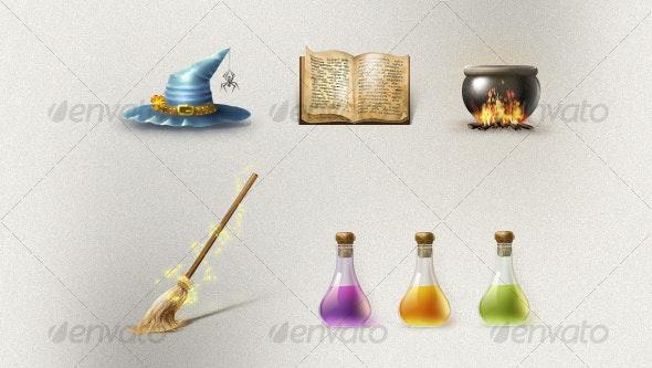 Magic Set - Web Icons