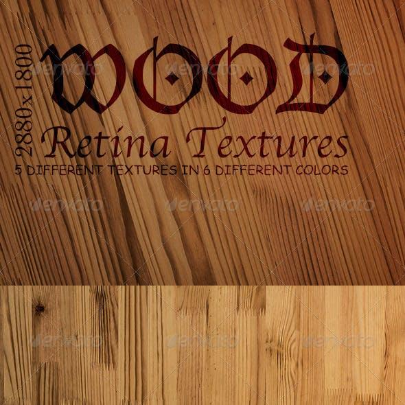 Retina Wood Textures