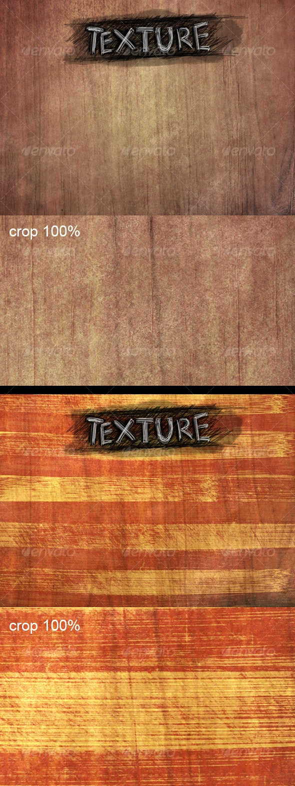 Two Wooden Backgrounds - Wood Textures
