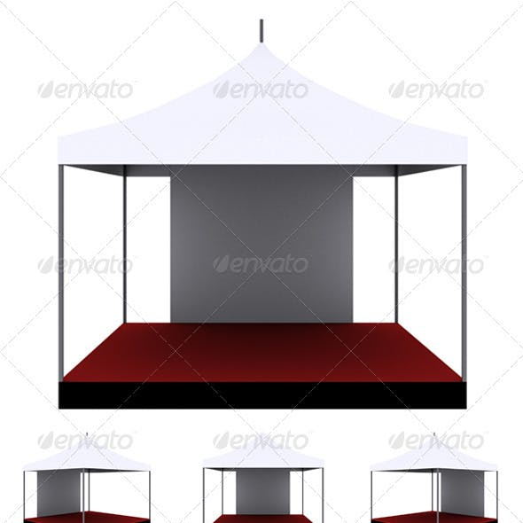 High Resolution & Isolated Tent