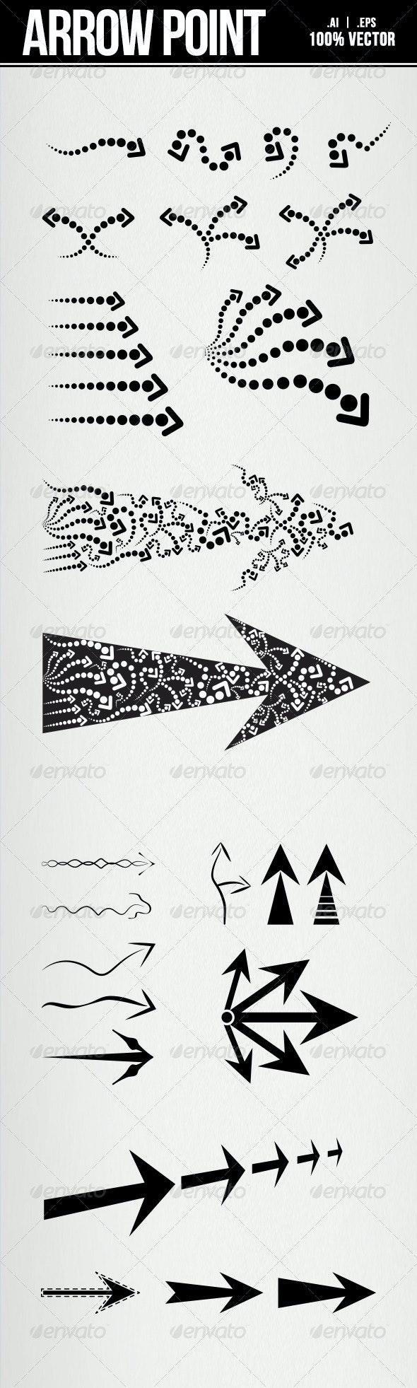 Arrow Point - Decorative Symbols Decorative