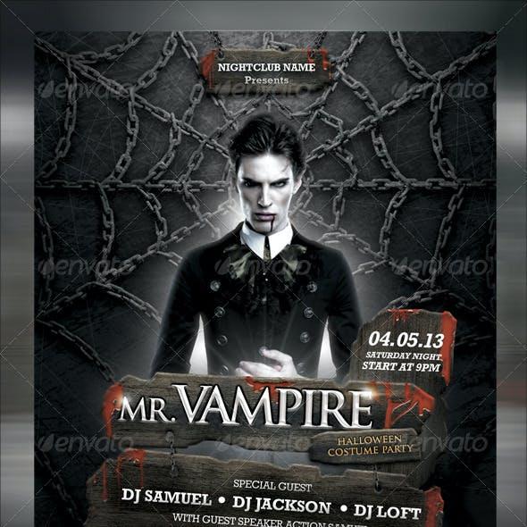 MR. Vampire Music Flyer