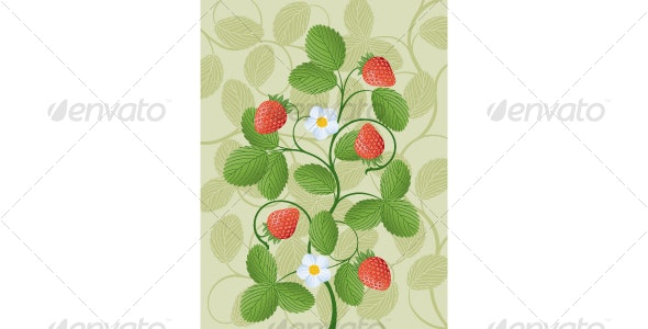 Strawberry - Backgrounds Decorative