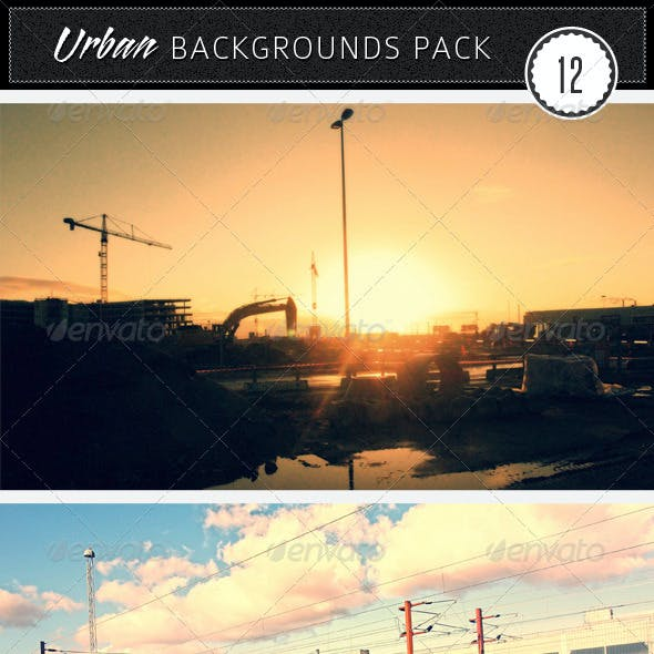 Urban Backgrounds Pack 12