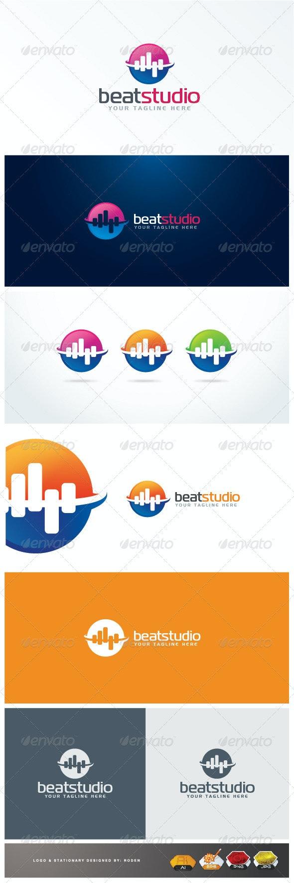 Beat Logo - Symbols Logo Templates