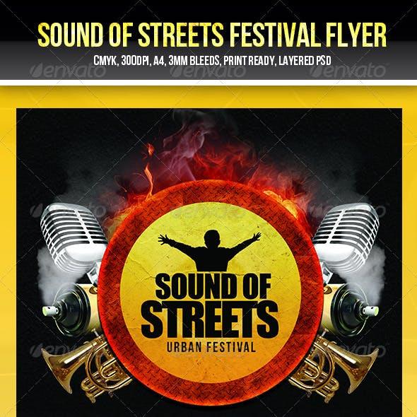 Urban Music Festival Flyer Template
