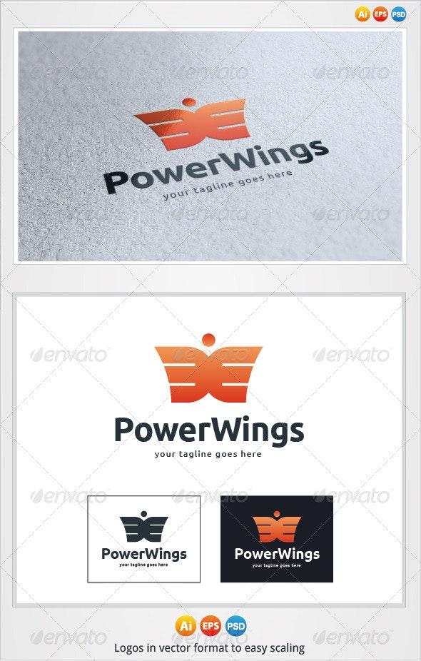 Power Wings Logo - Symbols Logo Templates