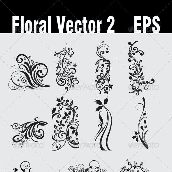 Floral Vector 2 EPS