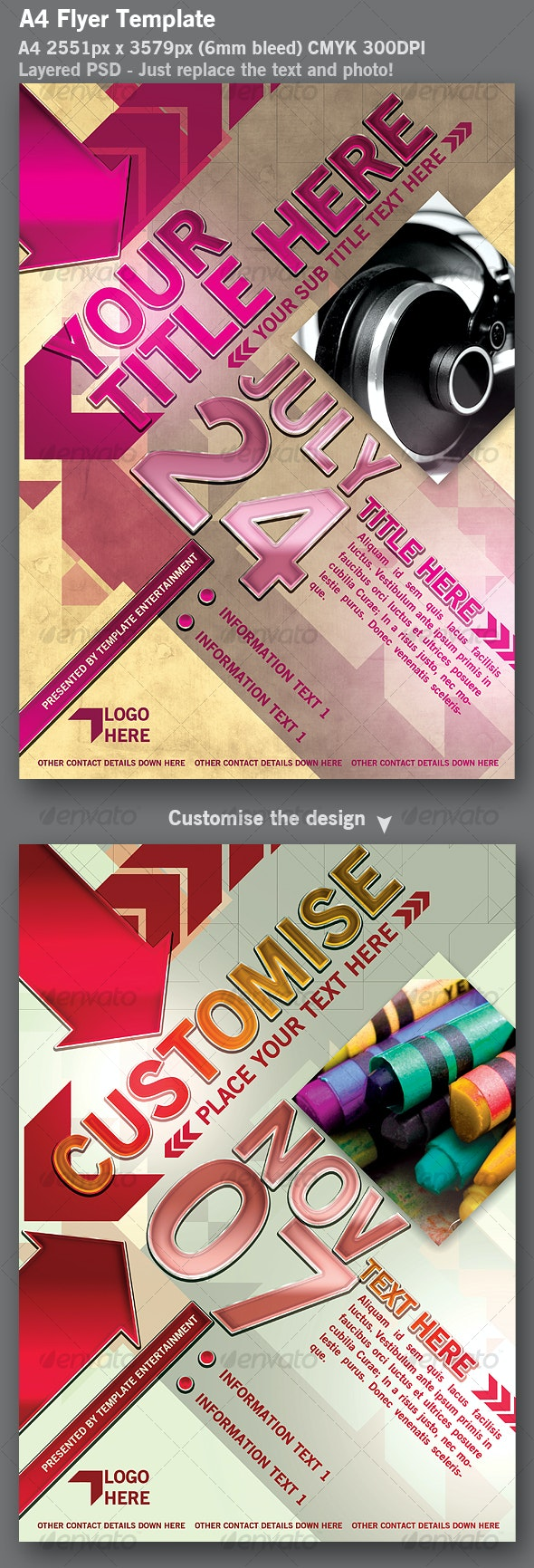 Flyer Template - Clubs & Parties Events