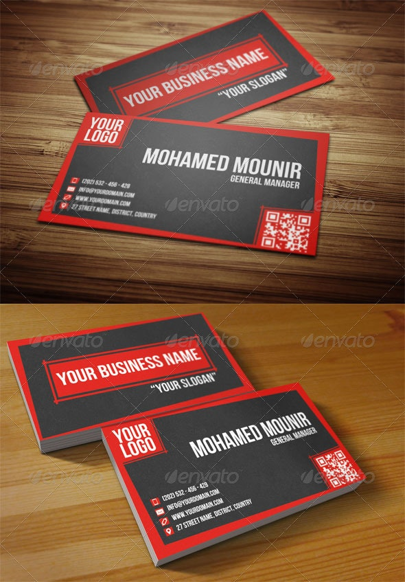 Creative Multipurpose Business Card - Corporate Business Cards