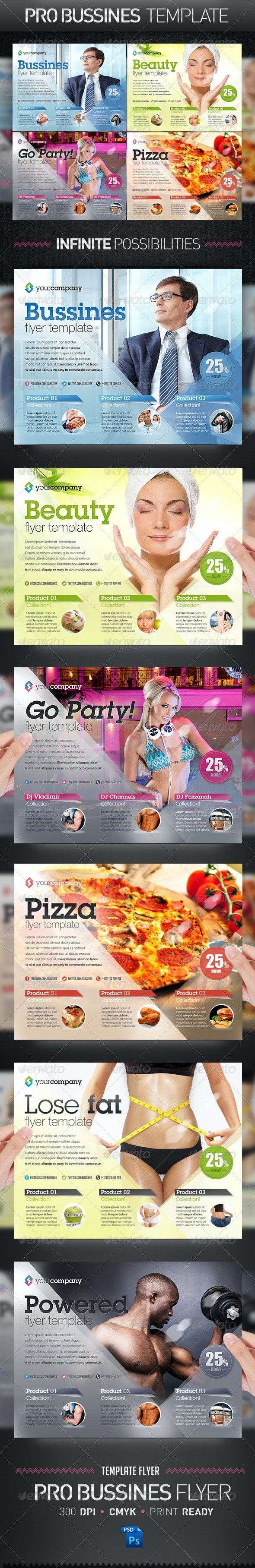 Business PRO Flyer Template - Corporate Flyers
