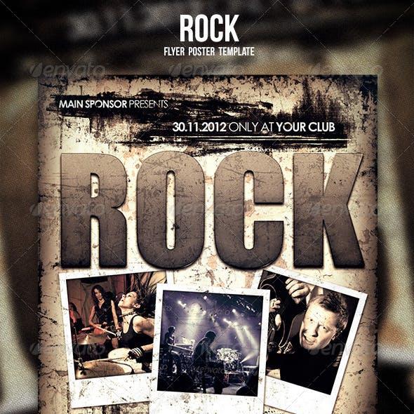 Rock Flyer / Poster 2