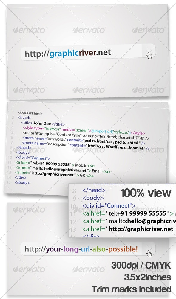 I Luv Code  - Industry Specific Business Cards